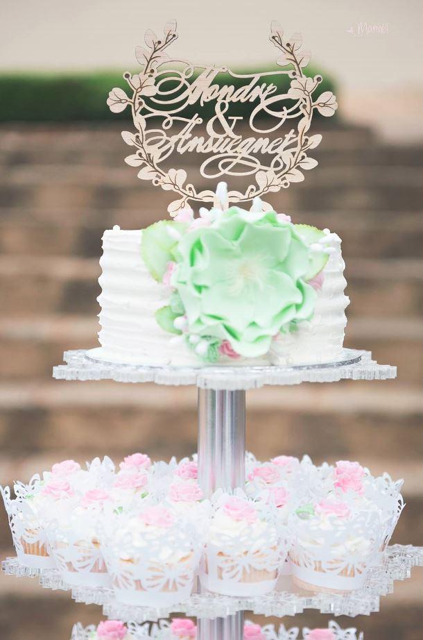 Cake Topper Mock Up