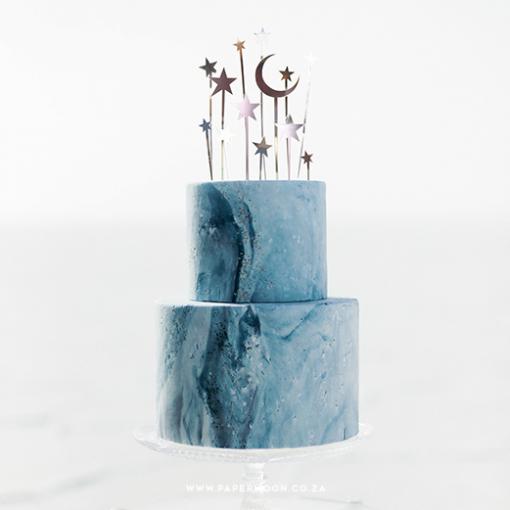 celestial cake topper