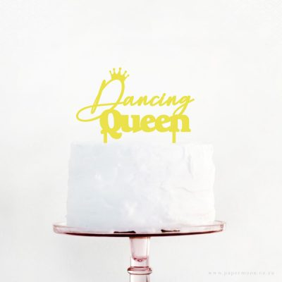 Dancing Queen Cake Topper