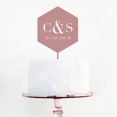 Engraved-Geometric-Cake-Topper