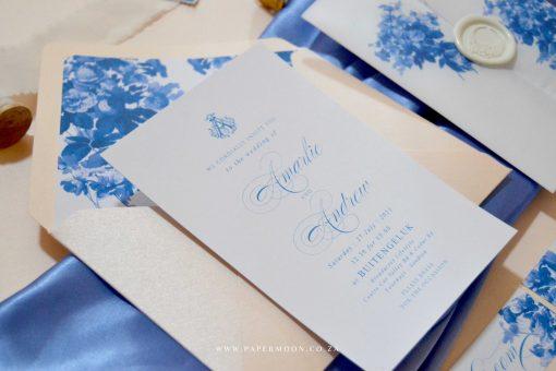 delft wedding invitations