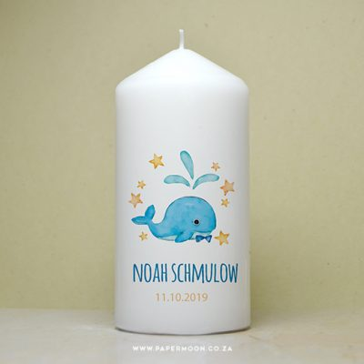 whale candle